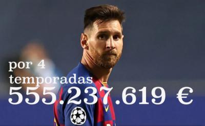 FÚTBOL | Reflexiones sobre el sueldo de Messi
