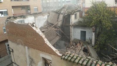ACCIDENTE | Se derrumba una casa en un conocido barrio de Talavera