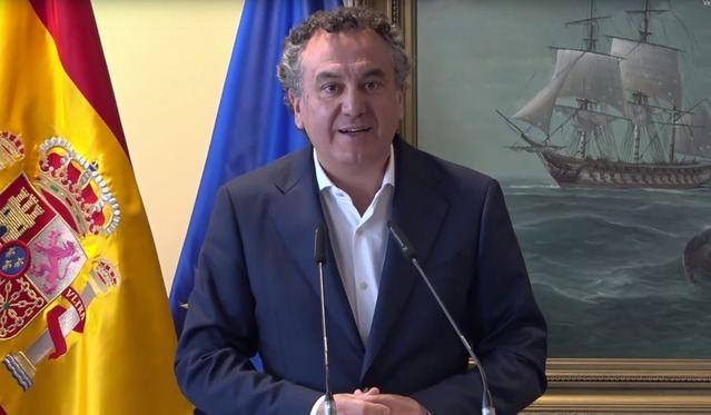 VIDEO | La emoción del talaverano Roberto Brasero en la entrega de medallas de la Operación Balmis
