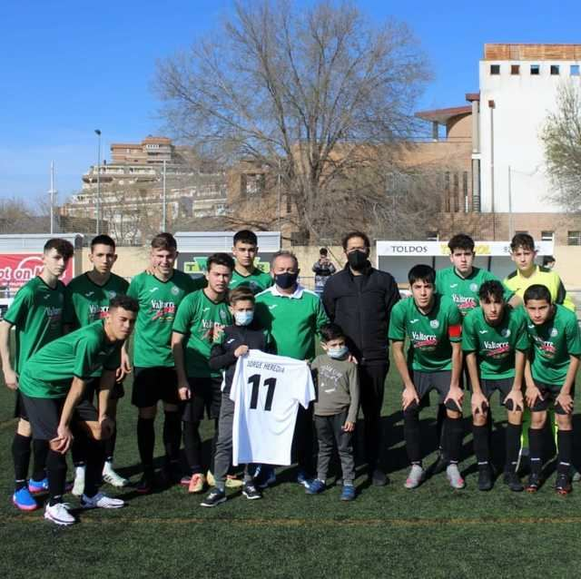 FÚTBOL | El bonito homenaje del Sport City Talavera a Jorge Heredia
