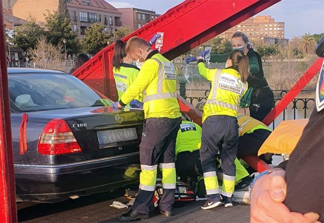 TALAVERA | Una niña de 12 años atropellada en el Puente de Hierro