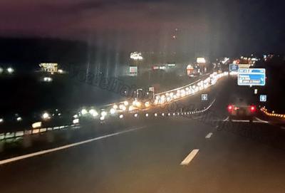 VÍDEO | Pese al cierre perimetral de CLM, miles de madrileños vuelven 'de fin de semana'