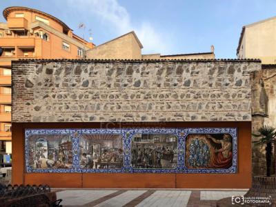 TALAVERA | ¿Un mural cerámico en la Plaza de Zamora?