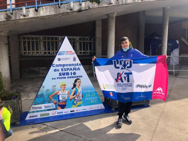 ATLETISMO | Samuel Serrano consigue la victoria en Oviedo