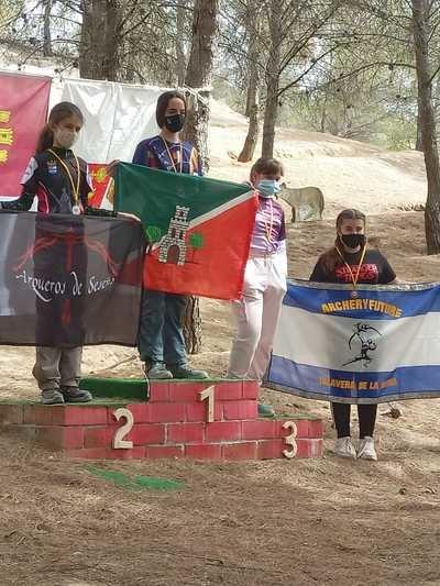 TIRO CON ARCO | Destaca la buena participación del club Archery Future Talavera
