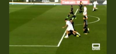 POLÉMICA | ¿Fue penalti el primer gol del Real Madrid Castilla?
