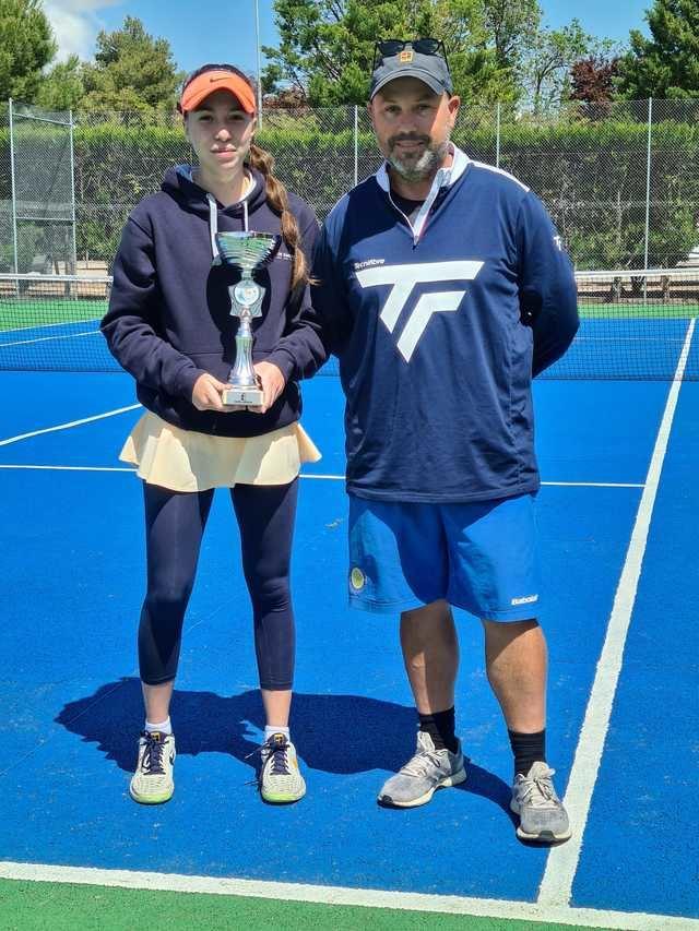 MEJORADA | La tenista Paula Moreno al Campeonato de España