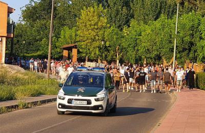 Así fue la manifestación en contra de los okupas conflictivos de Cazalegas