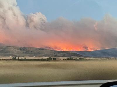 20.000 hectáreas afectadas por el incendio forestal de Navalacruz