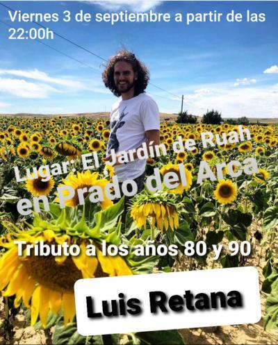 Este viernes tienes una cita con Luis Retana en 'El Jardín de Ruah'