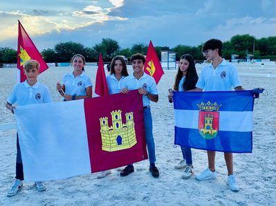 Seis talaveranos representan a CLM en el Campeonato de Doma Clásica