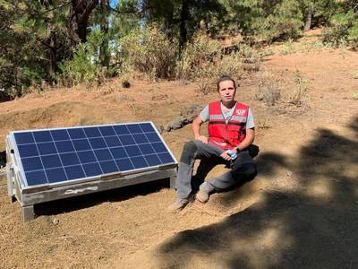 Rubén López, el geólogo talaverano que trabaja en los terremotos de La Palma