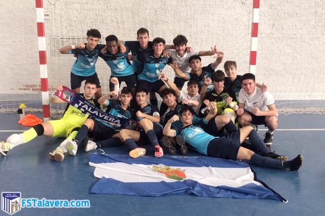 El Enertel FS Talavera se estrena con goleada y liderato