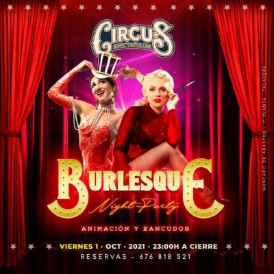 Este fin de semana tienes una cita en Circus y Copacabana