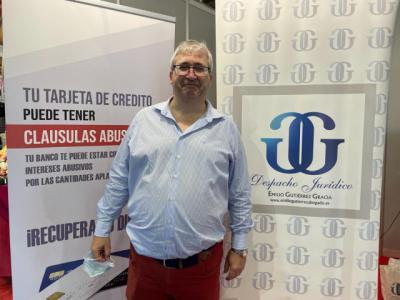 Emilio Gutiérrez está en la Feria del Stock para resolver tus problemas legales