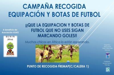 El Soliss FS Talavera lanza una campaña de recogida de material deportivo