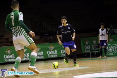 Chencho regresa al Soliss FS Talavera tras un año de cesión