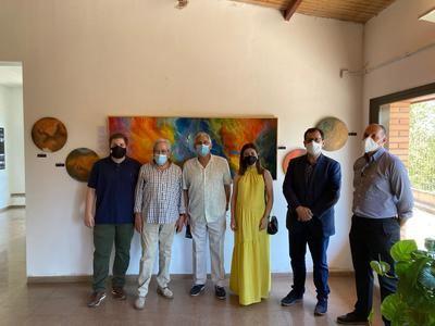 Inaugurada la exposición ''En el cielo de Malpica'' de Moisés Rojas Cabezudo