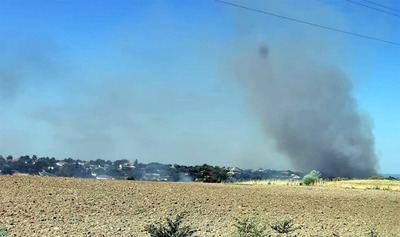 Controlados los dos incendios declarados hoy en Escalona (Toledo)