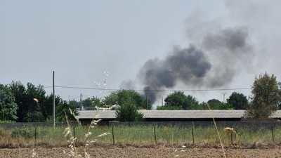 Extinguido el incendio junto a Palomarejos Golf