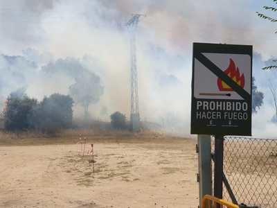 Talavera se encuentra en serio peligro de incendio según el IPP