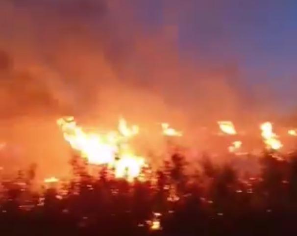 El incendio de Liétor deja 1.000 hectáreas arrasadas y cuenta con la colaboración de la UME