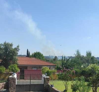 Declarado un nuevo incendio junto al 'Camping Cazalegas'