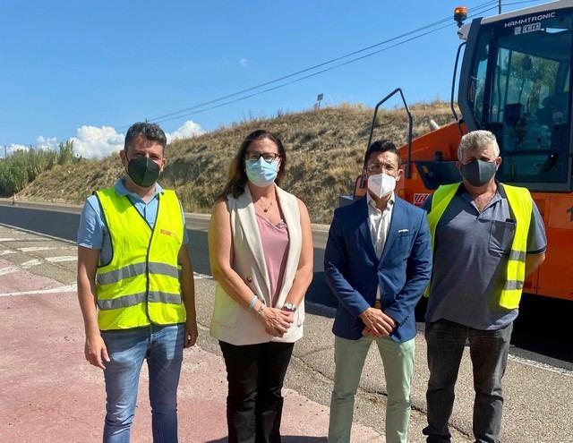 Mejoras en seguridad vial para los pueblos de Erustes, Cebolla y Menasalbas