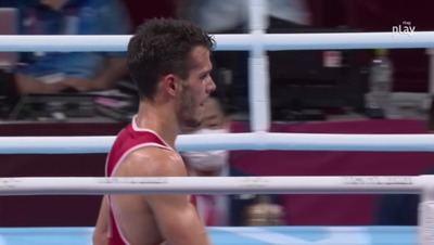 El boxeador Gabriel Escobar se queda con diploma olímpico pero fuera de la lucha por las medallas