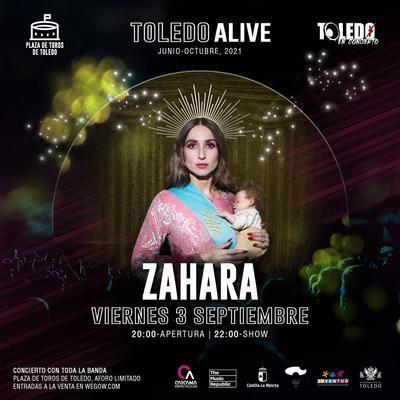 Polémica por el cartel del concierto de la cantante Zahara