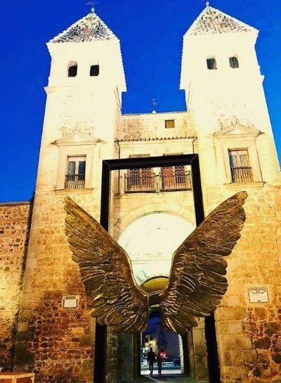 Las 'Alas de México' dejan Toledo tras un año de exposición