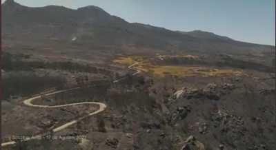 Impactantes imágenes de la devastación por el incendio en Navalacruz