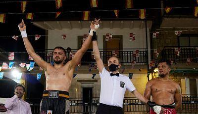 Adam Trenado obtiene la victoria en Pedro Bernardo