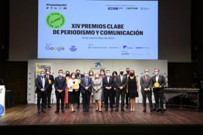 XIV edición de los premios de periodismo y comunicación