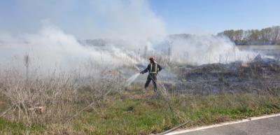 Incendio en Pepino / La Voz del Tajo