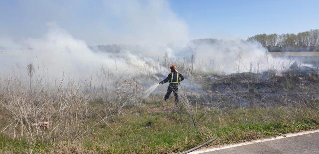 Comienzan los incendios forestales: en 'Espinosillo' (Pepino) y Los Navalucillos