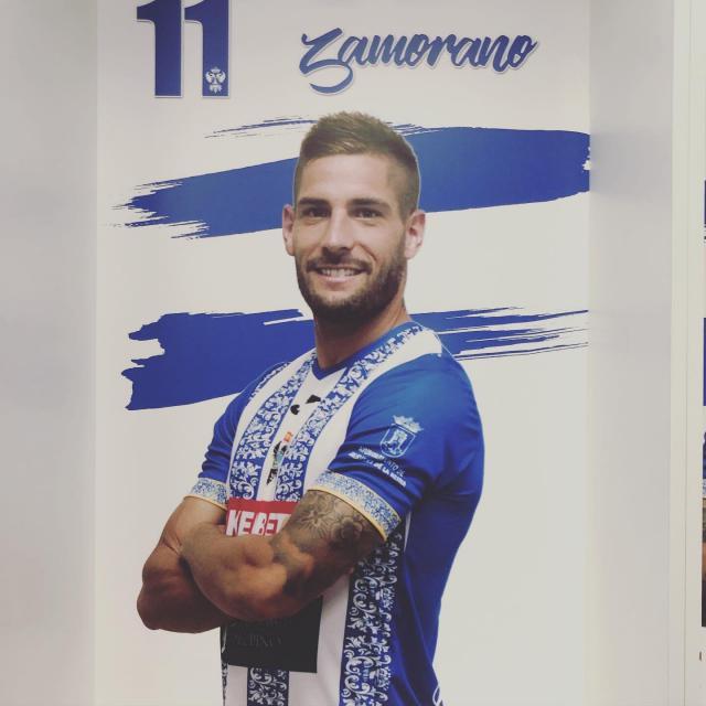 Zamorano se despide del CF Talavera