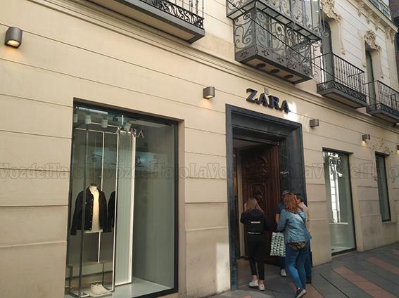 TALAVERA | Hoy cierra Zara su tienda en el centro de la ciudad