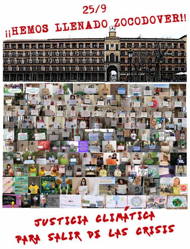 CAMBIO CLIMÁTICO   Manifestación virtual en Toledo