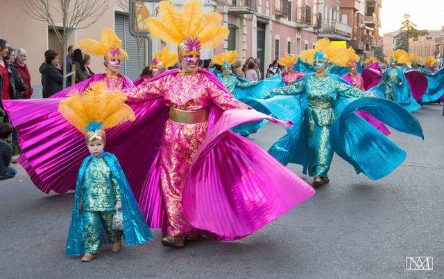 Calera y Chozas se llena de color en el Gran Desfile de Carnaval (FOTOS)