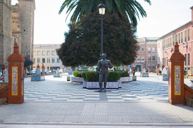 Plaza del Pan, en Talavera de la Reina | Foto: Iván Gutiérrez