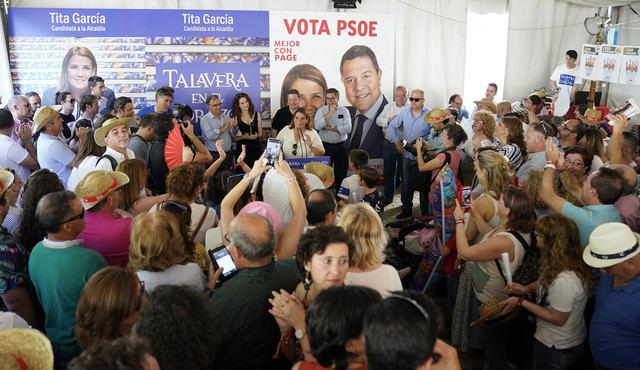 Tita García pide el voto para hacer una Talavera fuerte, competitiva