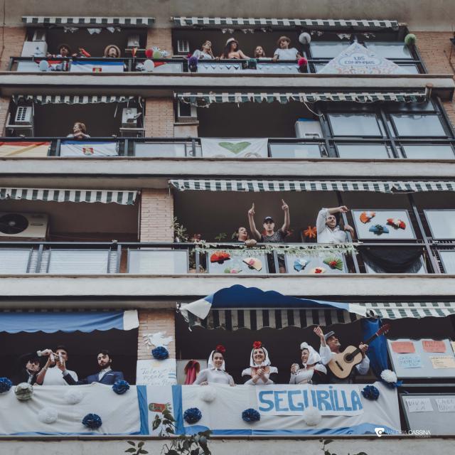 FOTOS | Balcones con sabor a fiesta talaverana