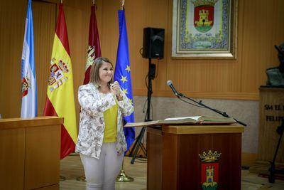 La investidura de Tita García, la primera alcaldesa de Talavera, vista por Valeria Cassina