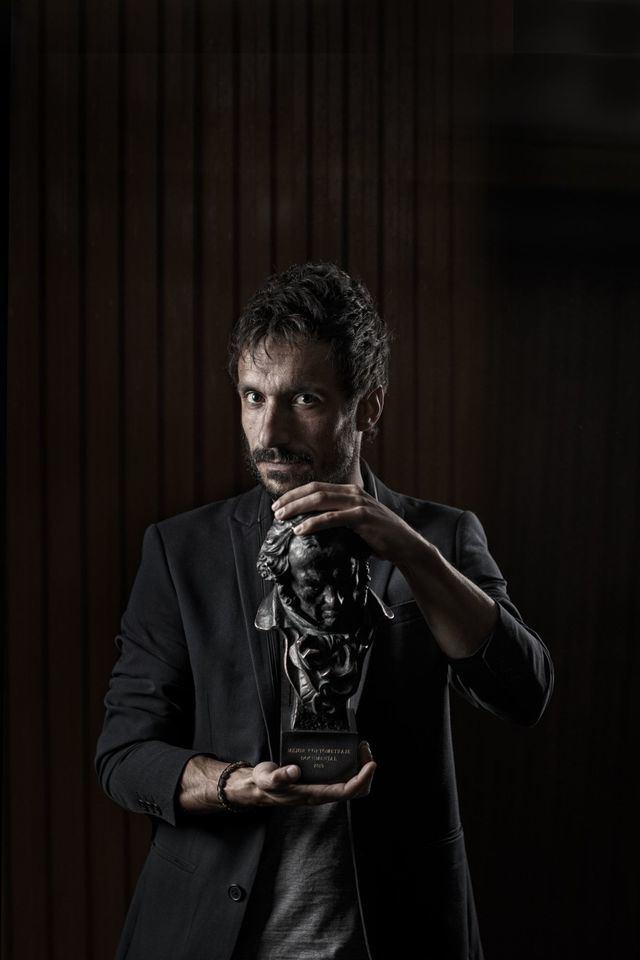 Julio Pérez del Campo, ganador del Goya por 'Gaza', visto por el objetivo de Valeria Cassina