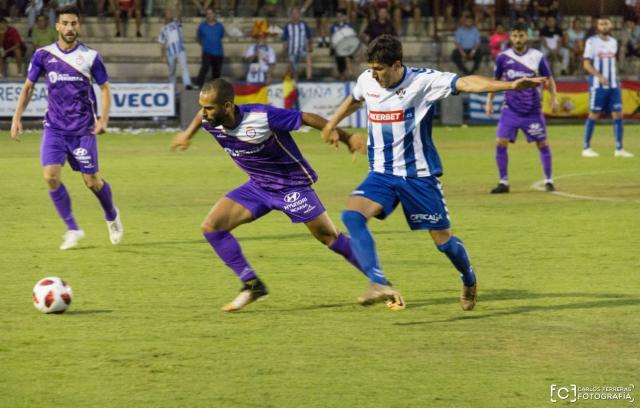El CF Talavera, en un partido de infarto, eliminado de la Copa por el Real Jaén en los penaltis