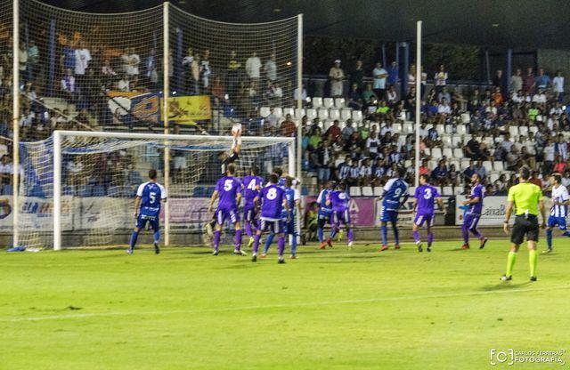 Las imágenes de la dolorosa derrota del Talavera ante el Jaén en la Copa