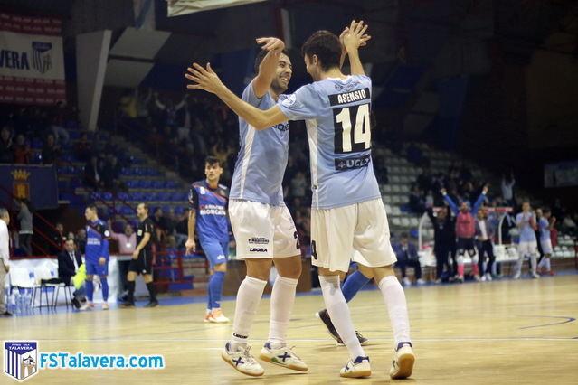 El Soliss FS Talavera acaba con sus fantasmas del pasado goleando en casa