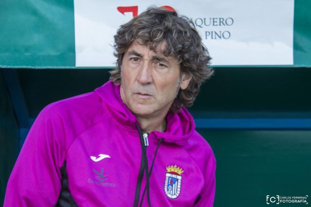 Paxti Salinas fue destituido como entrenador pacense tras la última visita a El Prado.