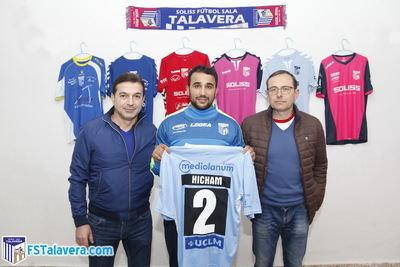 El SOLISS FS TALAVERA firma a HICHAM como refuerzo en el mercado invernal